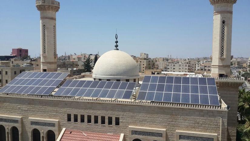 Картинки по запросу jordan mosque solar panel