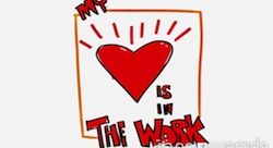 My Heart Is In the Work [Pic of the Week]