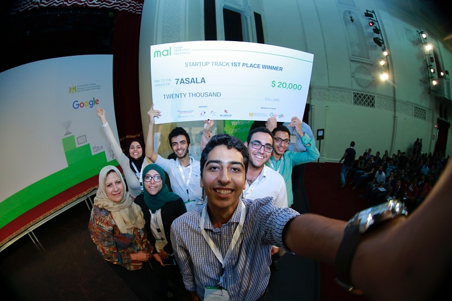 12 apps, six winners, and one big Egyptian competition