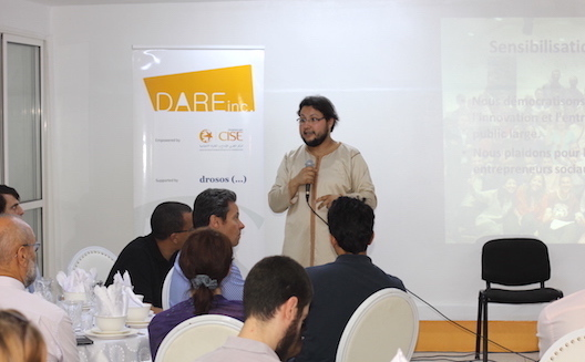عدنان عديوي يفوز بجائزة كريم جازواني في المغرب