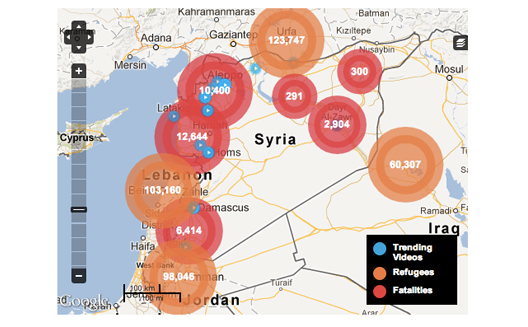 Syria Explained: Syria Deeply Maps Conflict in Context with New Media Tools