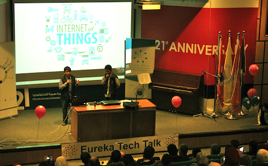 Eureka Tech Talk ignites spark for tech and entrepreneurship in Jordanian kids