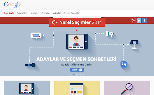 Building on its success in Egypt, eSpace launches elections portal in Turkey