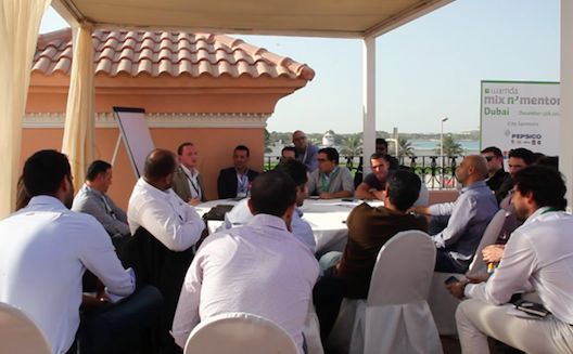 Still fighting for the funding, hot topic at Wamda's Mix N' Mentor in Dubai