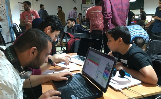 Tracking Palestine's tech talent at AngelHack