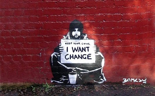 Don't ask for change, create change [Opinion]