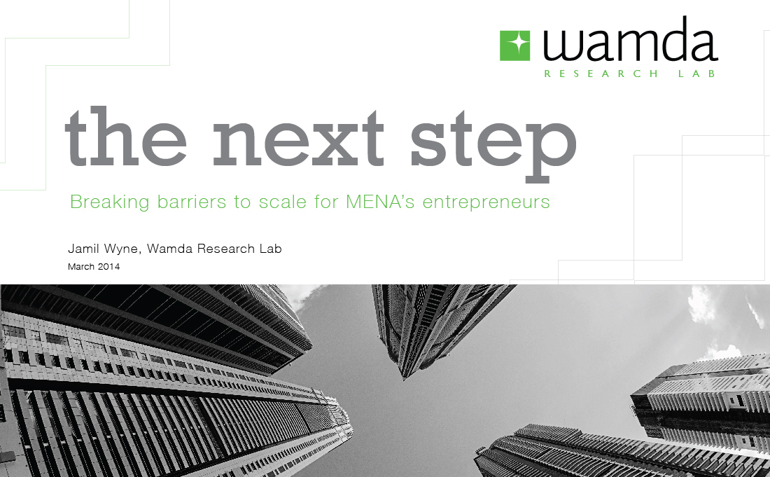 Wamda Research Lab debuts a groundbreaking report on the barriers to scaling