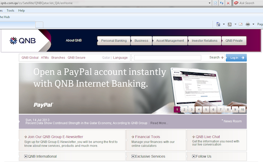 What PayPal's new partnership with Qatar National Bank means for online shoppers