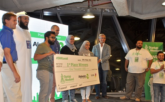 Startup Weekend Kuwait: first steps to forming a local Silicon Valley