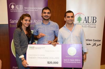 Ride sharing app wins $20K in AUB contest