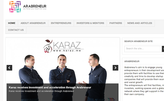 Arabreneur announces $440,000 USD investment in four Palestinian startups