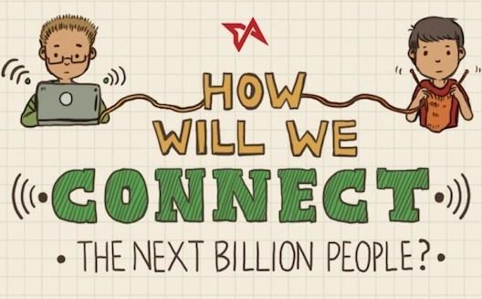 كيف سنربط المليار شخص الآخرين بالإنترنت؟ [إنفوجرافيك]
