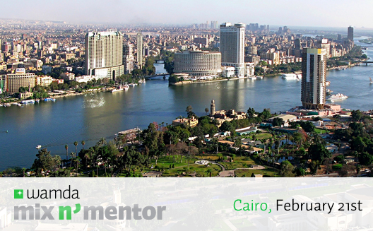First stop for Mix N' Mentor 2015: Cairo