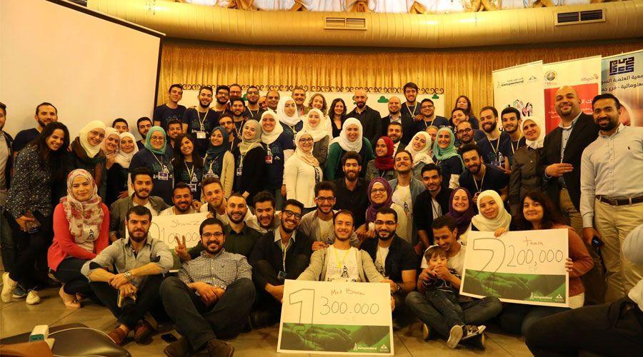 Three teams won in Startup Weekend Homs