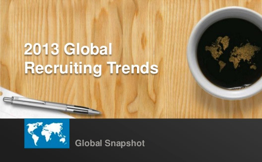 Put global recruiting trends to work in your job search