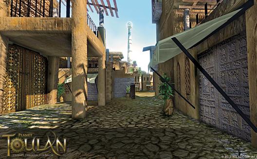 كوكب تولان: أول لعبة ثلاثية الأبعاد وعالية الدقة في العالم العربي