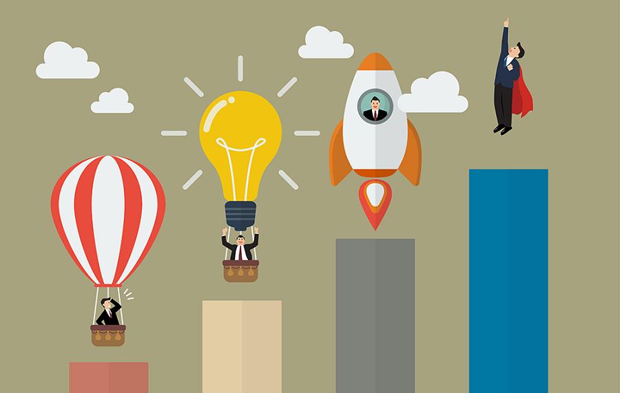 مقدمة إلى المراحل الأربعة لمسيرة شركتك الناشئة
