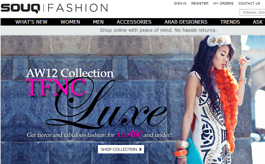 Souq Fashion Launches to Boost High-End Online Retail in the Arab World