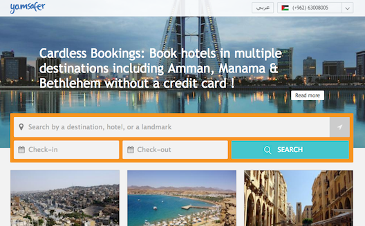 Yamsafer tackles region's payment challenge with cardless bookings