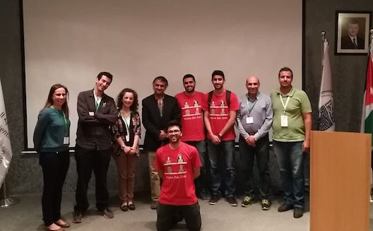 Foodlancing app wins AngelHack Amman 2016