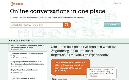 Engagio يجعل المحادثات إلإلكترونية أكثر تنظيماً