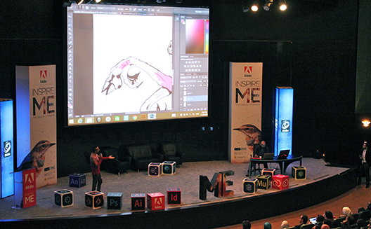Inspire ME creativity conference aims to spark innovation in graphic design