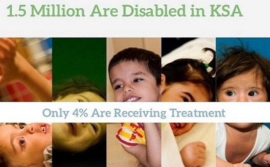 Saudi web startup focuses on rehab for disabled children