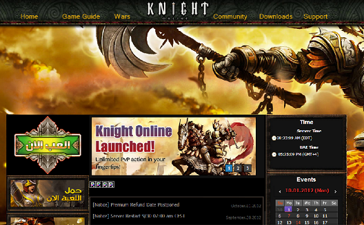 Arab World Publishing Platform Tahadi Localizes Korean Game Knight Online