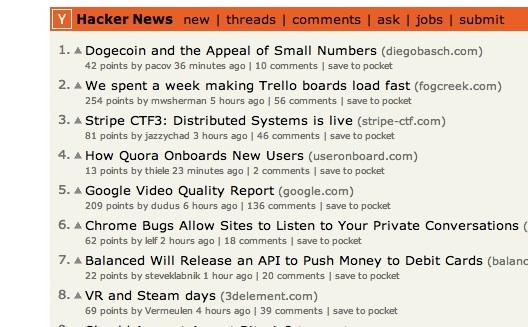 خمس خطوات لنشر مقالك على موقع 'هاكر نيوز' الشهير