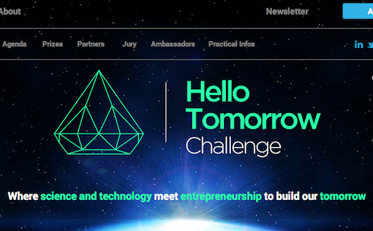 Hello Tomorrow Competition offers startups access to a world stage