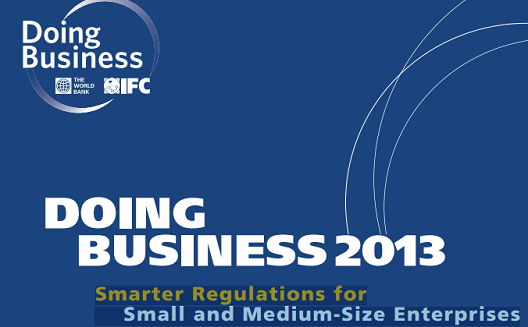 World Bank's Doing Business 2013 [Report]