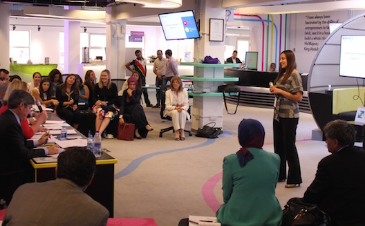 Fellowship for young women entrepreneurs connects rising stars from US and Jordan