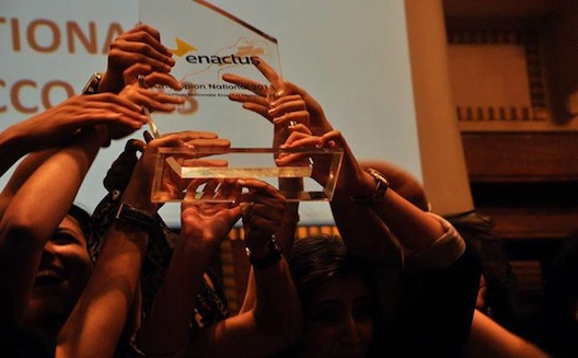 Moroccan student entrepreneurs face off at Enactus competition, winner heads to World Cup