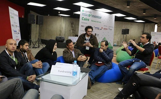 Experts and entrepreneurs tackle ecosystem's needs at Mix N' Mentor Cairo