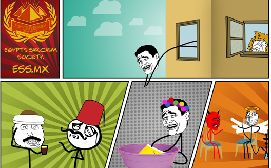 Making Humor Profitable: A Look at Egypt's Sarcasm Society