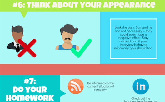12 tips for getting hired by a startup [Infographic]