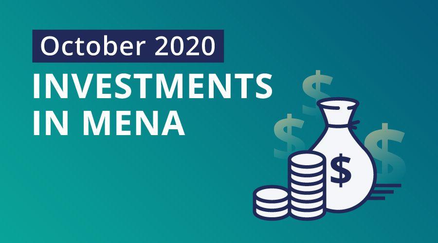 Mena startups raised $47.6 million in October