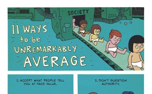 11 ways to be unremarkably average [Cartoon]