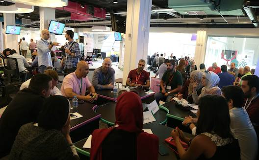 MENA corporates show a large appetite for startups at Mix N' Mentor Amman