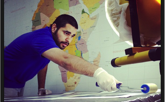 Bahraini startup becomes popular by turning Instagram photos into art