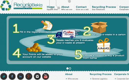 Recyclobekia partners with Jumia and launches individual e-waste recycling