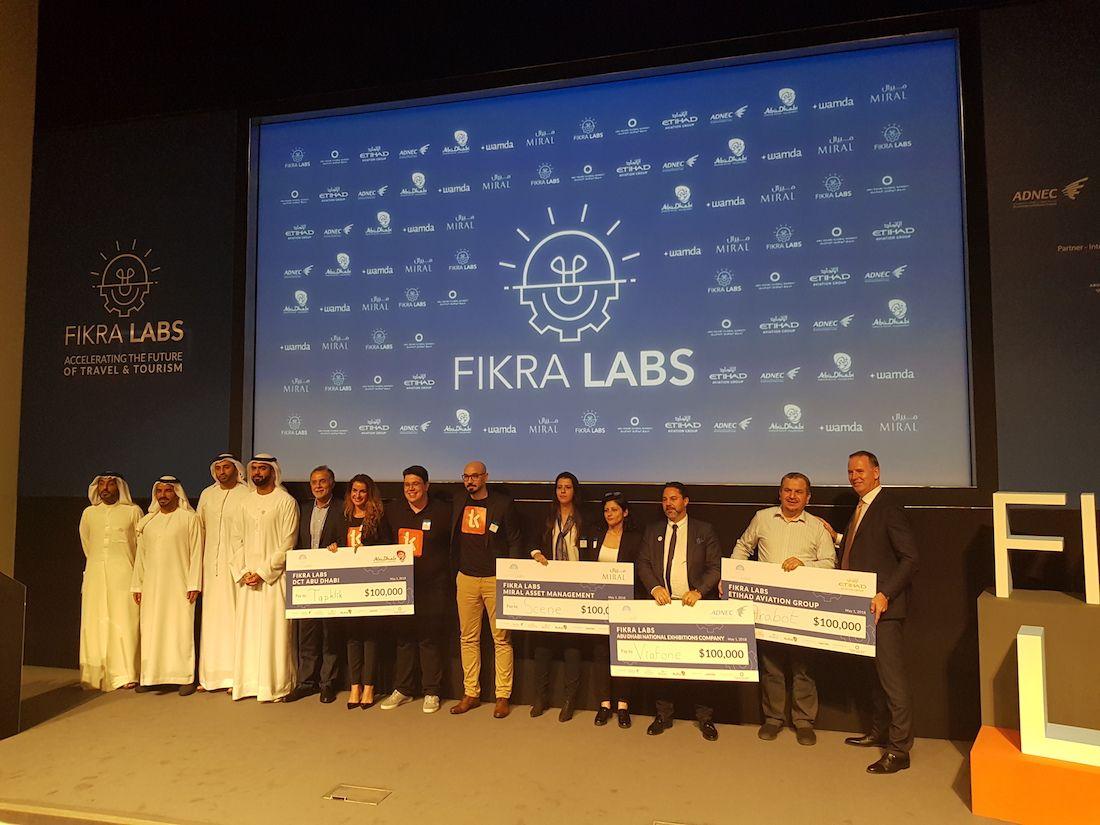 Abu Dhabi's travel and tourism leaders award $100k to four Fikra Labs winners