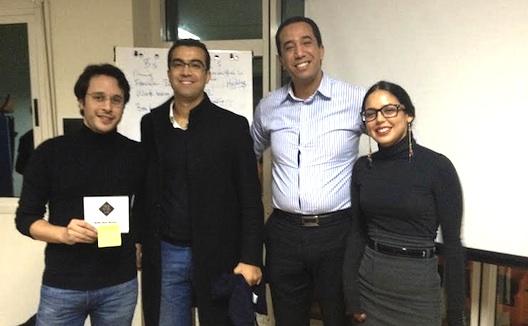 مقابلة مع رائد أعمال فاز في مسابقة عرض الأفكار في المغرب