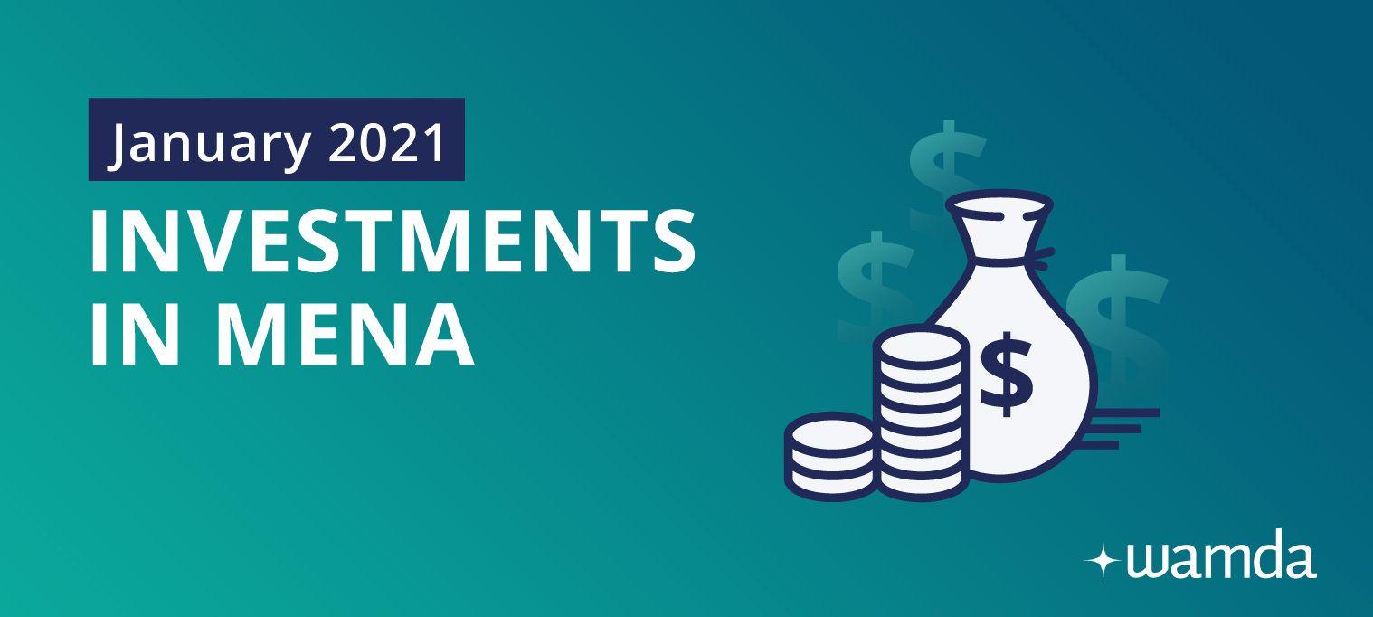 Mena startups raised $43 million in January 2021