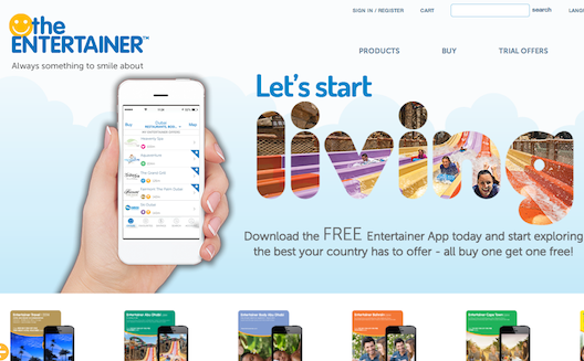 Voucher book The Entertainer bets on a new mobile app for global expansion