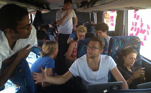 Startup Bus Africa devient AMPION Venture Bus, traverse le Maghreb et lance un programme d'accélération