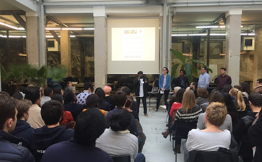 Tech solutions for refugees with Techfugees