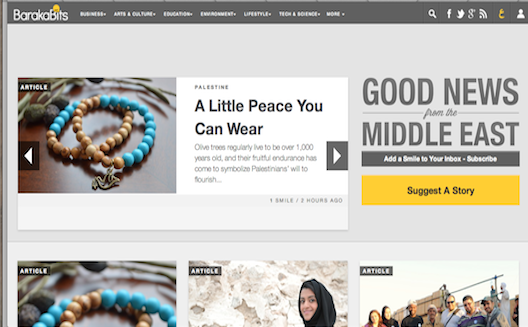 Baraka Bits uses 'good news from the Middle East' to power positive change in the region