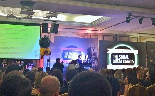 جوائز الشبكات الاجتماعية في بيروت تكرِّم مدونين وشركات ناشئة ومشاهير