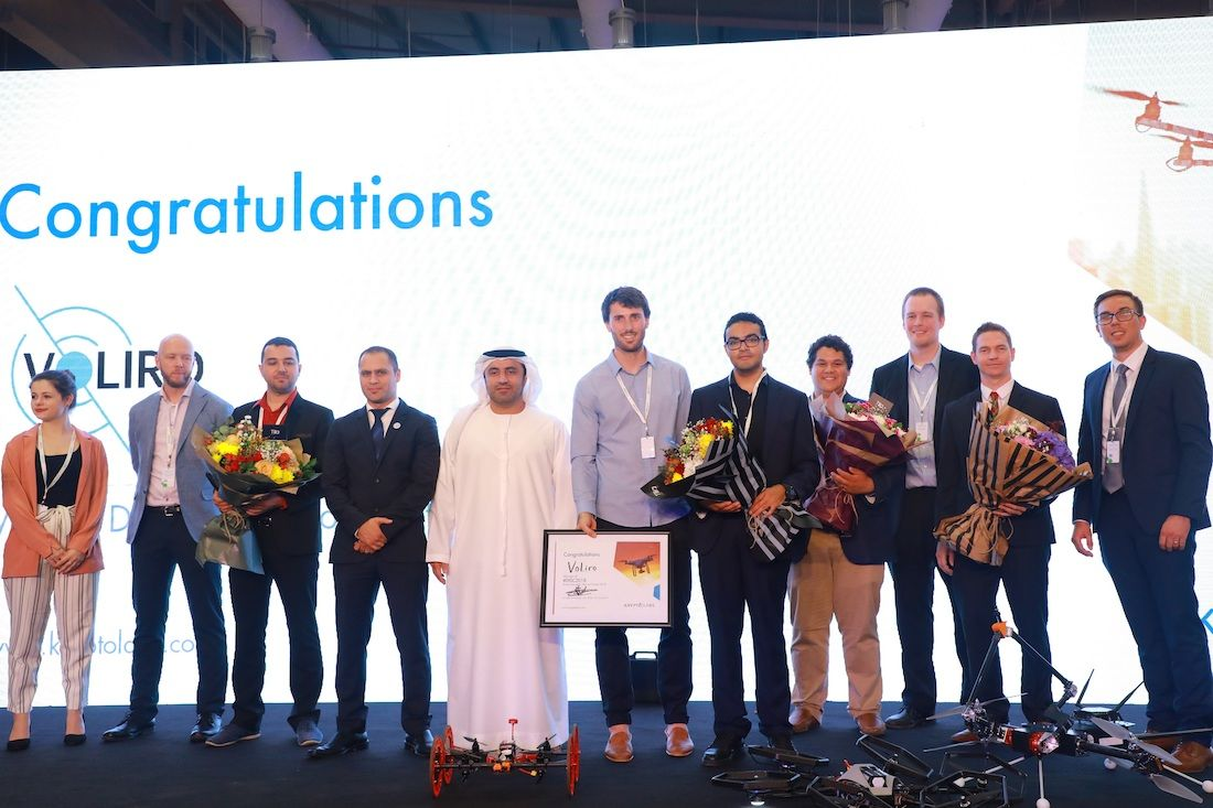 Abu Dhabi-based Krypto Labs Announces the Winner of the Drone Innovation Start-Up Contest 2018
